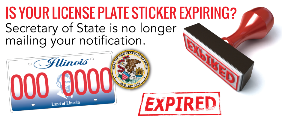 is your license plate sticker expiring? – town of cicero, il