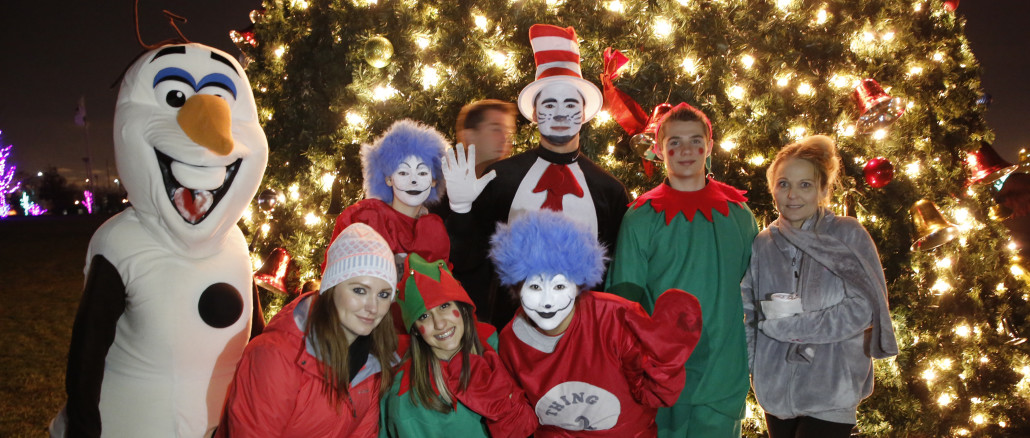 warmer weather than last year brought large crowds to cicero community park as hundreds of town residents gathered to kick off the holiday season with the