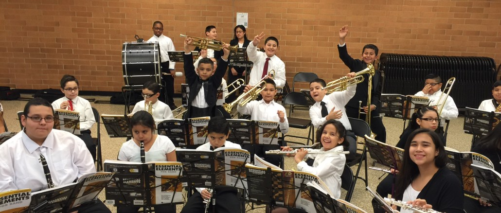 District 99 Bands Join Together For First Concert Town Of Cicero IL