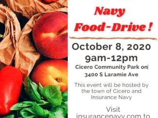 Insurance Navy, Town of Cicero Food Drive Oct. 8, 2020